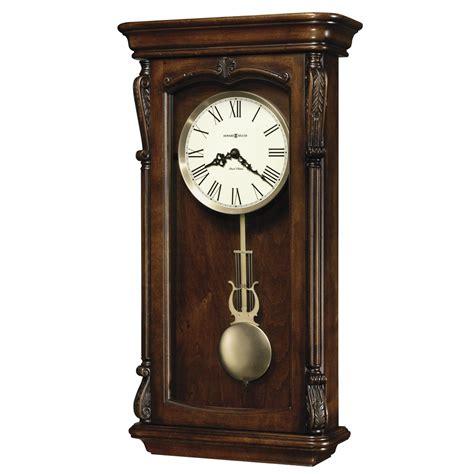 howard miller dual chime clock howard miller henderson dual chime pendulum wall clock 625378