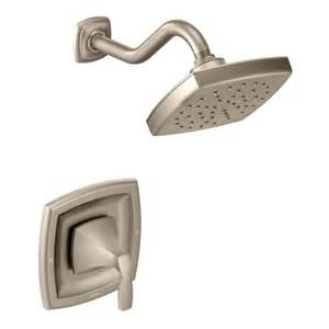 voss brushed nickel moentrol 174 shower only t3692bn moen
