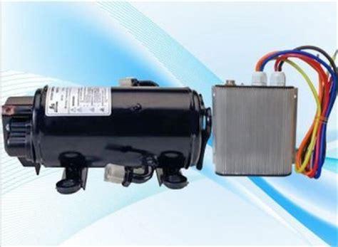 gowe 12v brushless motor compressor 850w for 12 volt rv truck sleeper cabin air conditioner