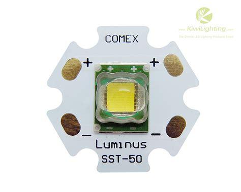 luminus led light bulbs 10 white led light 1300lm luminus sst 50 series 20mm