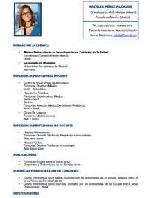 elaboracion de un curriculum vitae curriculum vitae medico curriculum vitae