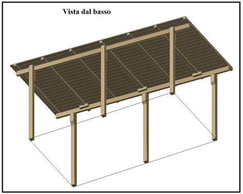 disegno tettoia in legno una tettoia garage costruita in legno