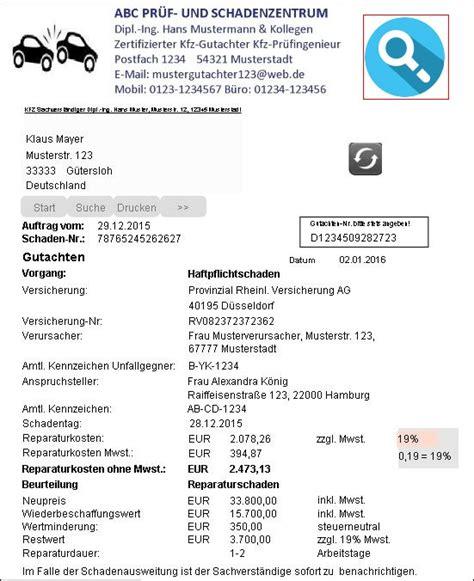 Bewertung Kfz Werkstatt by Sachverst 228 Ndigensoftware Gutachtersoftware Kfz