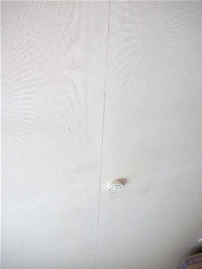 wallpaper edge repair めくれた壁紙の補修