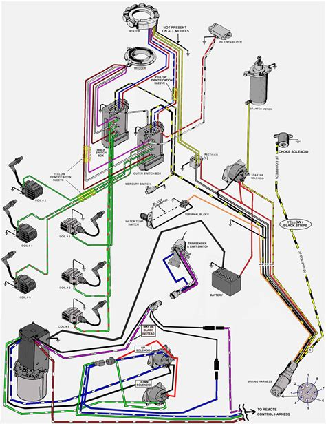 mercury outboard motor ignition switch wiring diagram