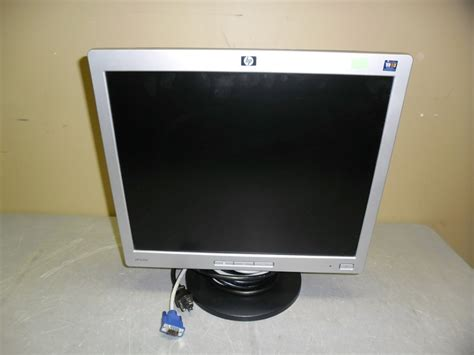 Monitor Hp L1706 hp l1706 17 quot lcd color monitor px849a w vga cable power cord 829160879420 ebay