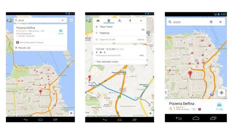 maps for android maps for android debuts new design better navigation pc tech magazine