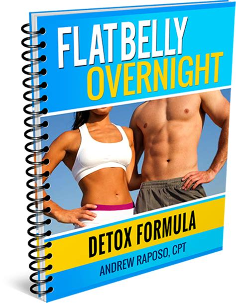 The Flat Belly Detox Formula flat belly overnight