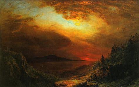 twilight painting twilight mount desert island maine painting afrederic