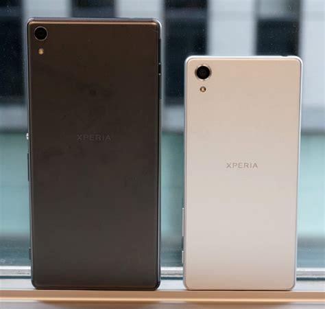 Handphone Sony Xa Ultra sony xperia xa ultra selfie centric 6 inch phablet unveiled techpinas