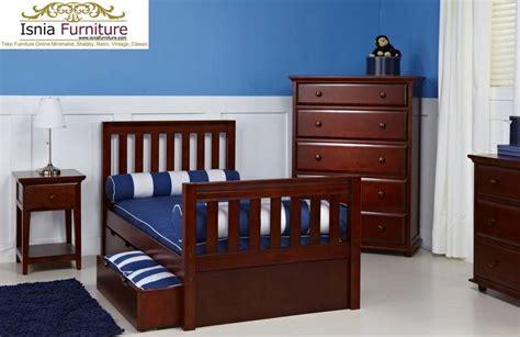 Ranjang Tingkat Kayu Murah Bandung tempat tidur laci furniture modern kayu jati harga murah laris manis