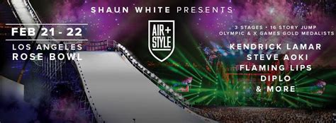 Air Stylers by Shaun White S Air Style Comes To La This Weekend