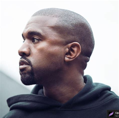 Kanye West Hairstyle by Kanye West Hairstyles New