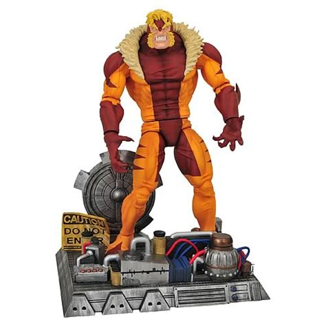 x figures marvel select sabretooth figure select