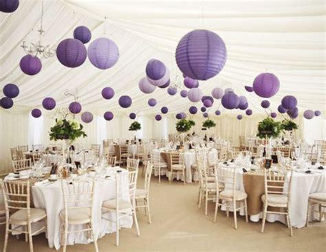 Purple Wedding Decor by 10 Amazing Purple Wedding Decorations To Admire