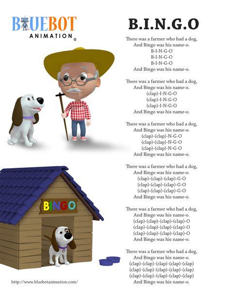 row row your boat spanish lyrics bingo b i n g o nursery rhyme lyrics free printable