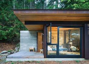 Small Modern Cabin by Modern One Room Modern Cabin
