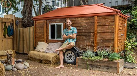 single person eco homes small eco house environmentalist builds incredible eco friendly house