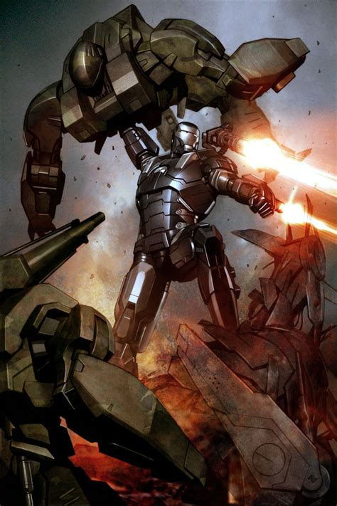 Iron War Machine Comic iron central