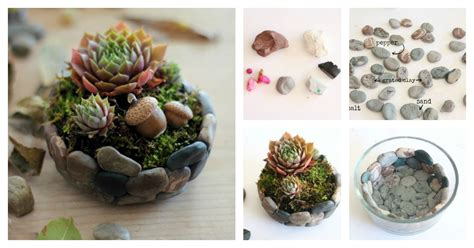 Rock Planters How To Make by How To Make A Faux Planter