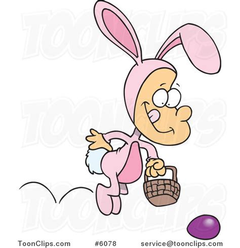 Ro N St Piyama Rabbit boy hopping in an easter bunny costume 6078 by leishman