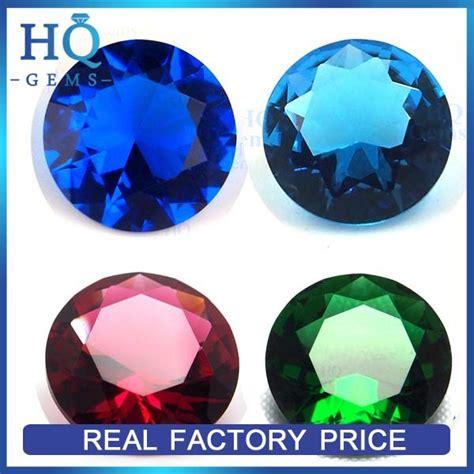 hq cut glass gems bulk decorative glass gems buy