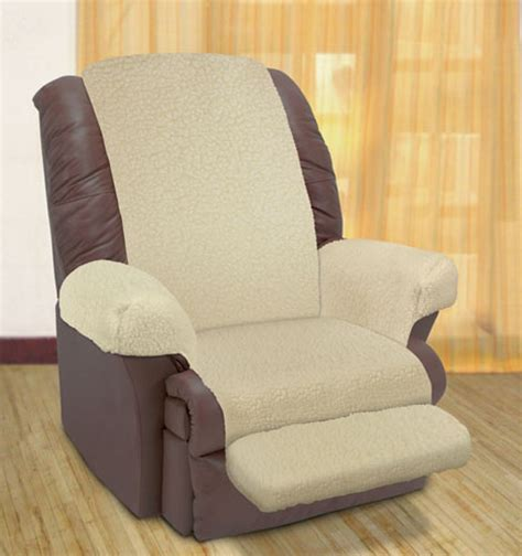 Recliner Pad by Fleece Recliner Cover Beige Fleece Recliner Cover Beige