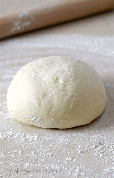 Dough Pizza italian pizza dough cooking with curls