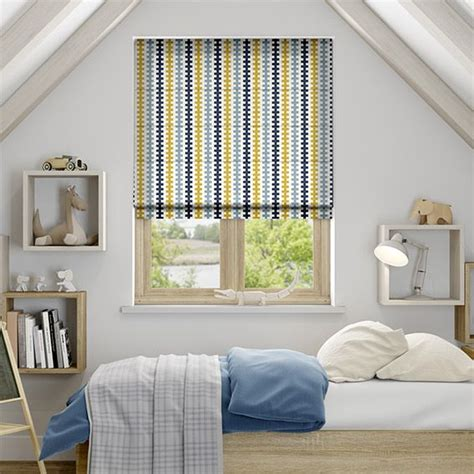 mustard patterned roller blinds 36 best images about blinds sophisticated stripes on