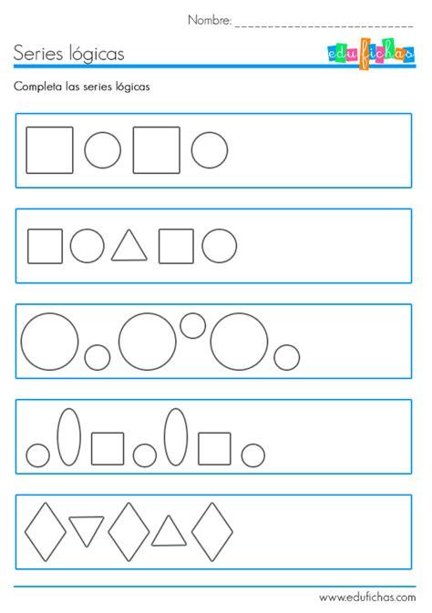 gu 237 a did 225 ctica secuencia didactica figuras geometricas y arte inicial ficha educativa de series l 243 gicas con