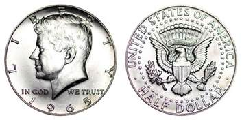 kennedy half dollars us coin prices and values