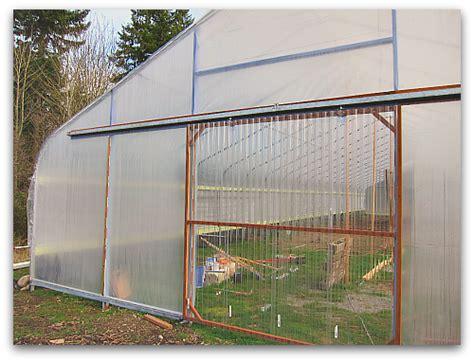 green house door when a greenhorn builds a greenhouse clover farm