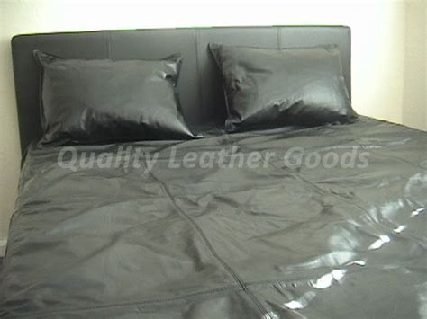 leather bed sheets 100 genuine premium leather bed sheet in black single