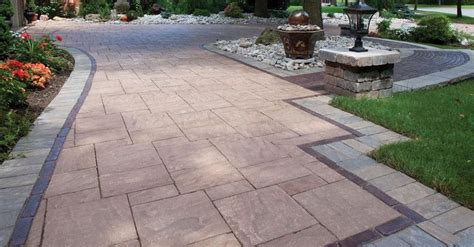 driveway design on hill 1000 images about unilock enduracolor paver on pinterest