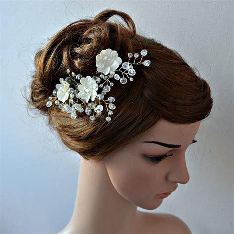 Bridal Flower Hair Pin bridal hair pins hair jewellery set of 3 hair
