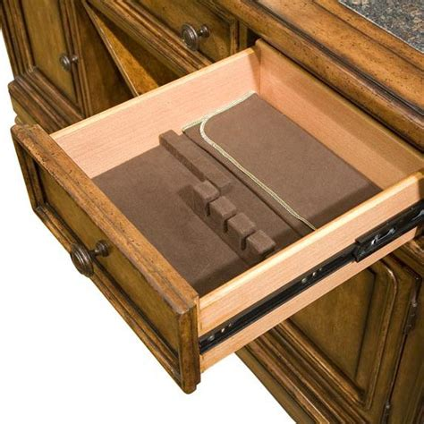 lined silverware drawer insert legacy classic larkspur 931 151lc credenza sideboard with