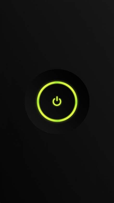 minimalistic power button xbox  wallpaper