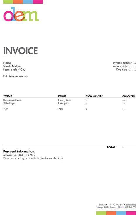 5 invoice template graphic design invoice template freelance graphic