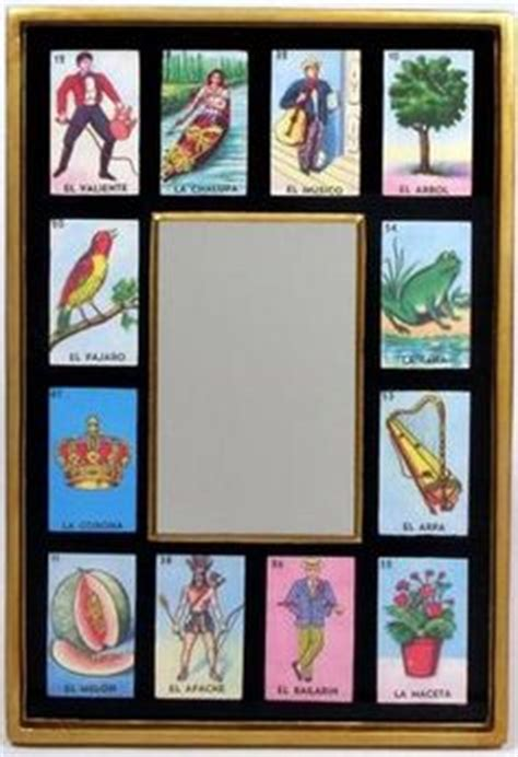 loteria template loteria decor on wood crosses picture frames