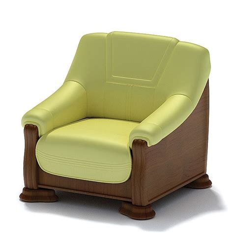 luxury armchair 3d model cgtrader