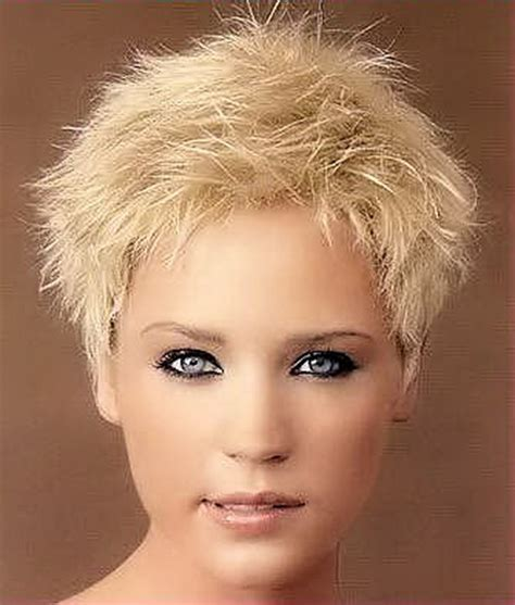 short spiky haircuts for round face women womens short short spiky haircuts for women