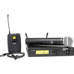 Mic Wireless Shure Ulx 4 B shure combo wireless mic systems b h photo