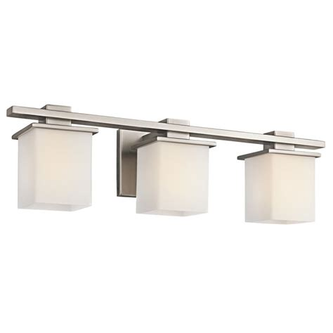 Kichler Bathroom Light Fixtures Kichler 45151ap Antique Pewter Tully 3 Light 24 Quot Wide Vanity Light Bathroom Fixture With Satin
