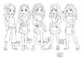 47 dessins de coloriage lego friends 224 imprimer