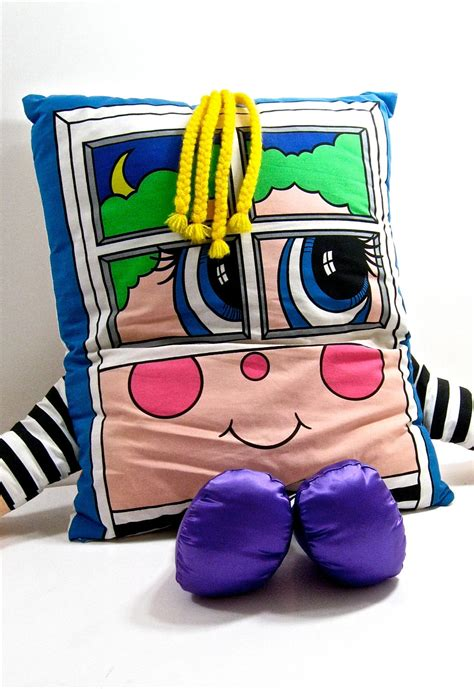 Pillow Person | vintage pillow people 1980s