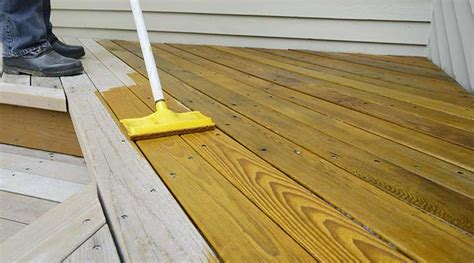 sealing painting staining pressure treated wood yellawood