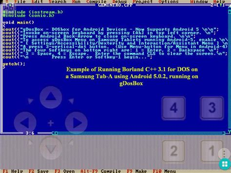 dosbox android gdosbox dosbox for android android apps on play