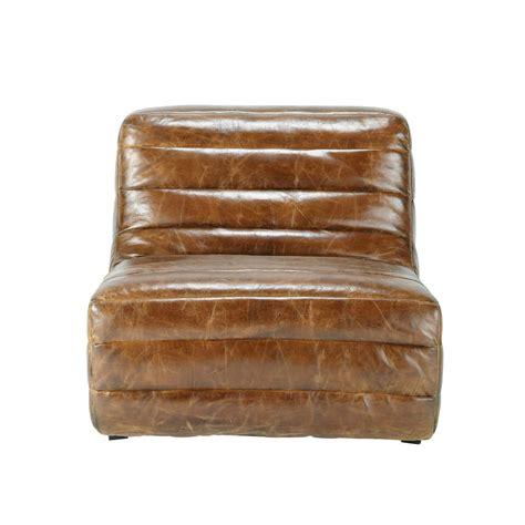 brown leather armchair vintage vintage brown leather armchair stuttgart stuttgart maisons du monde