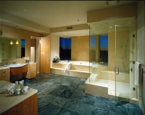 house bathroom modern desert house for luxury life in the nature
