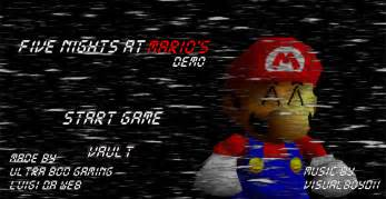Five nights at mario s demo release by leoperi99 on deviantart
